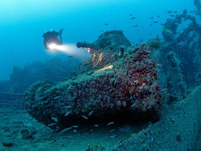 wrak-duiken